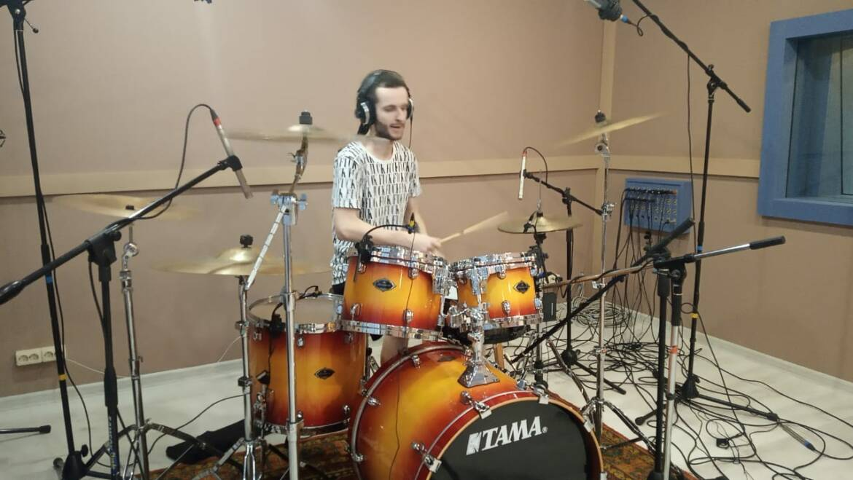 Запись барабанов Wizardmask